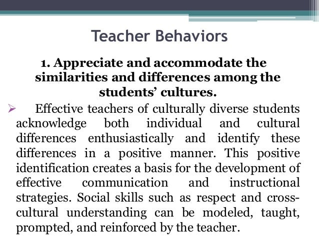 Culturally Responsive Curriculum