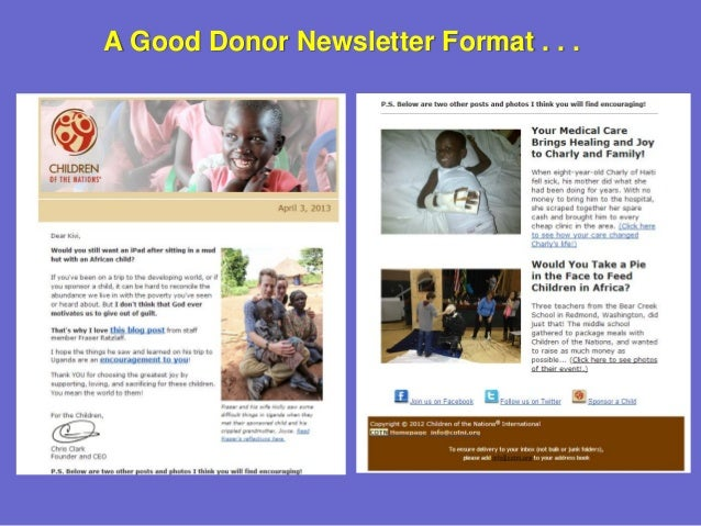 a new approach to nonprofit newsletters stop interrupting your sup