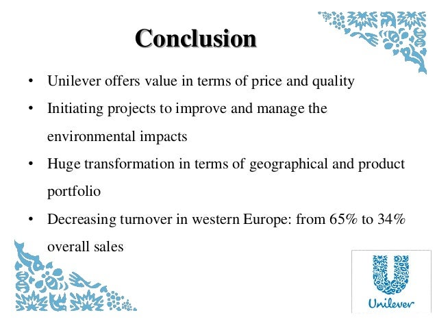 Unilever Future Market Plan 2016-2020 Essay