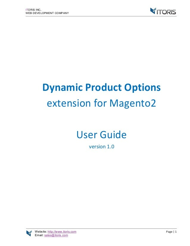 Magento 2 Custom Options (Magento 2 Dynamic Product Actions) Extentio…