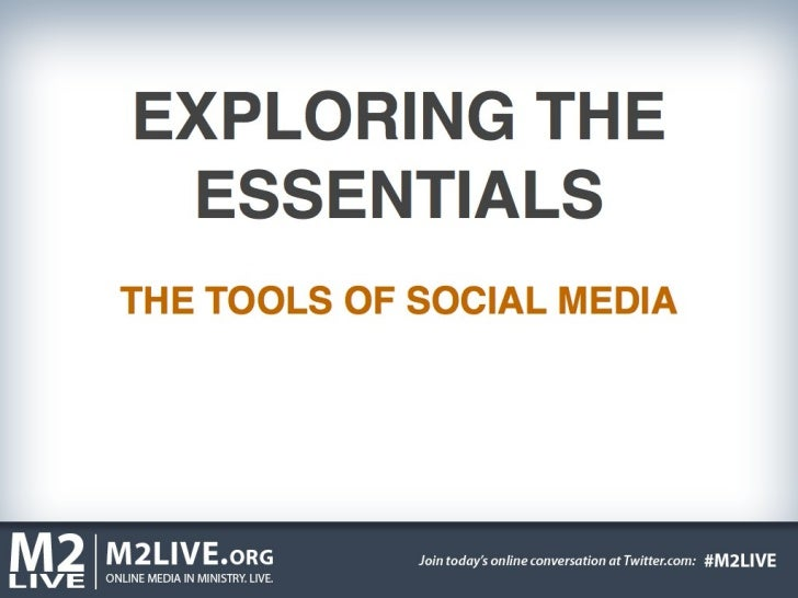 M2 LIVE Social Media Essentials