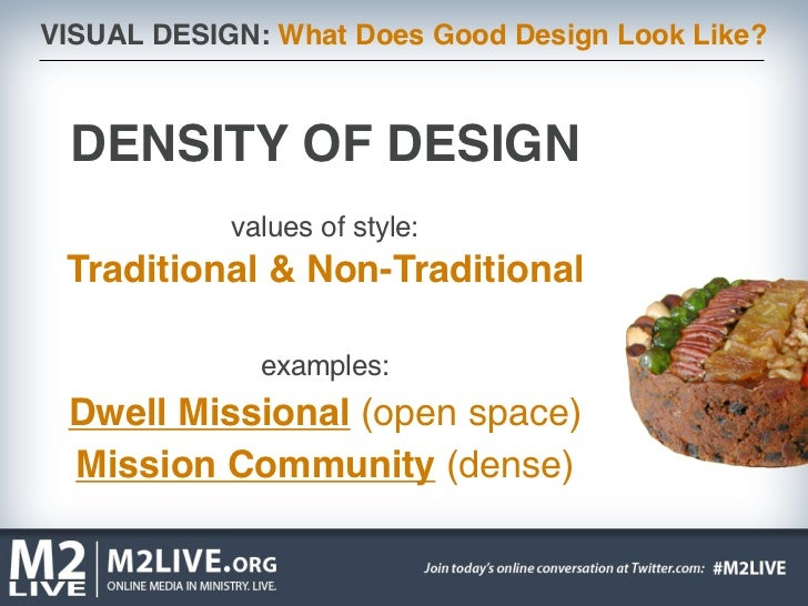 visual design what does good design look like