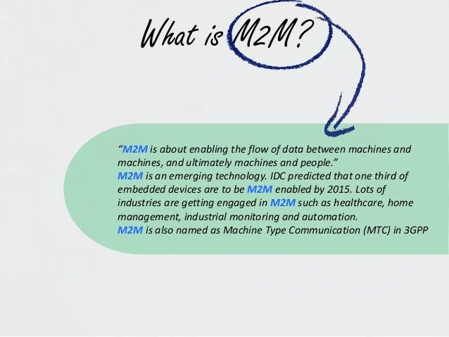 M2M communications Slide 2