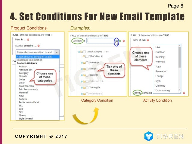 Set Conditions For New Email Template 10