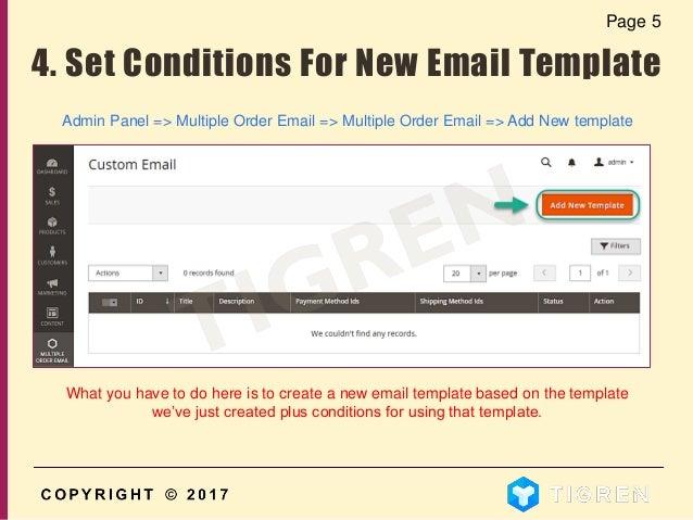 how to create custom email templates - Trisamoorddiner