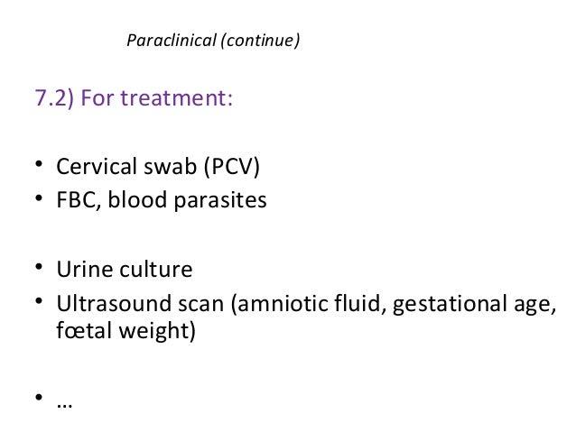 M2 premature rupture of membranes