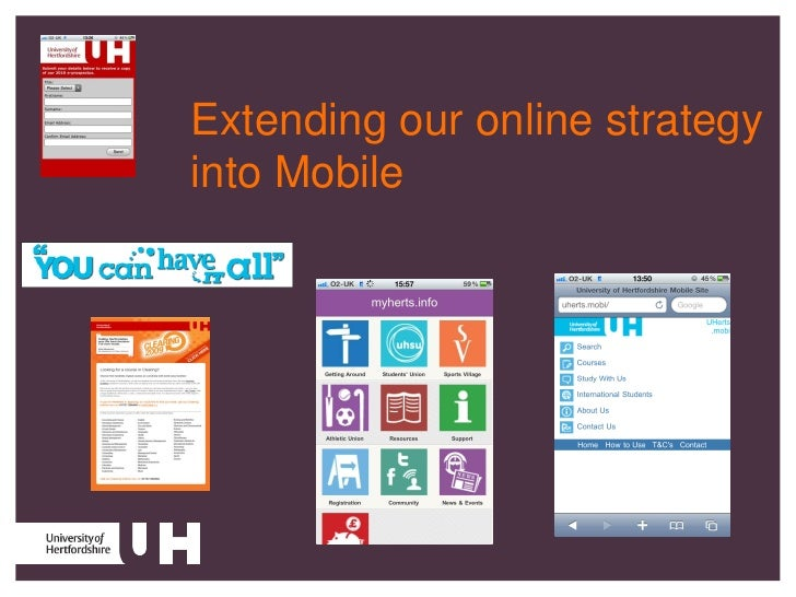 Extending our online strategy into Mobile