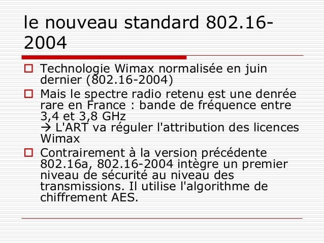 Webographie  IEEE 802.11n by Haroun Ferhat and David Grégoire  802.11n: The Future of Wireless Technology by Kevin Alber...