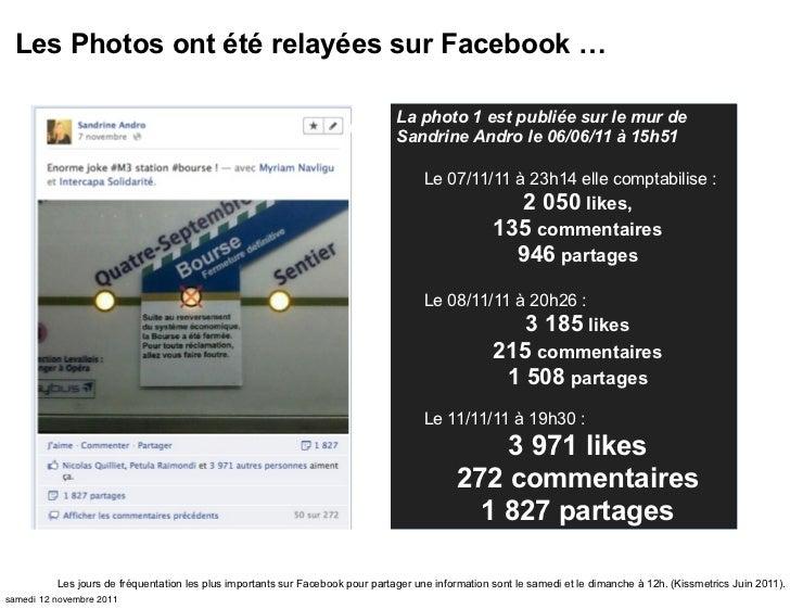 Les Photos ont été relayées sur Facebook …                                                                                ...