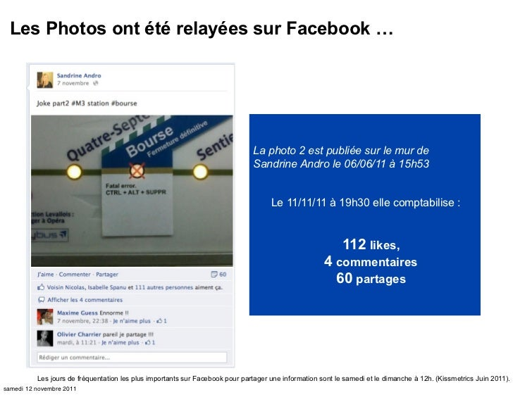 Les Photos ont été relayées sur Facebook …                                                                              La...