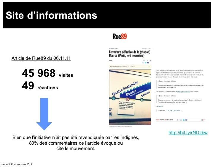 Site d'informations       Article de Rue89 du 06.11.11               45 968 visites               49 réactions            ...