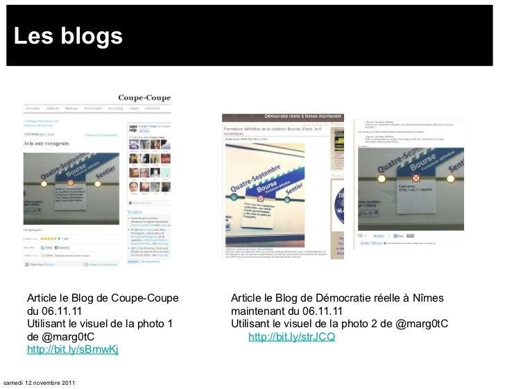 Les blogs       Article le Blog de Coupe-Coupe      Article le Blog de Démocratie réelle à Nîmes       du 06.11.11        ...