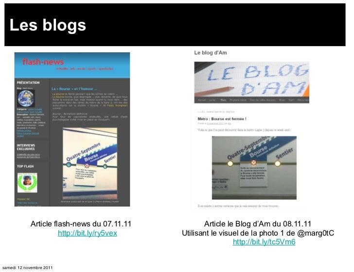 Les blogs            Article flash-news du 07.11.11          Article le Blog d'Am du 08.11.11                      http://...