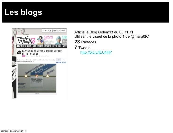 Les blogs                          Article le Blog Golem13 du 08.11.11                          Utilisant le visuel de la ...