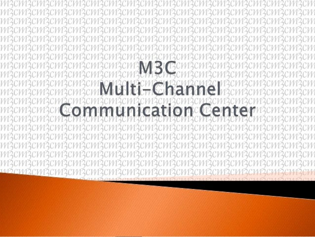 Purpose: Introduction to M3C  Scope: Functional  Flow   ◦ Presentation ◦ Q & A's ◦ Acknowledgements