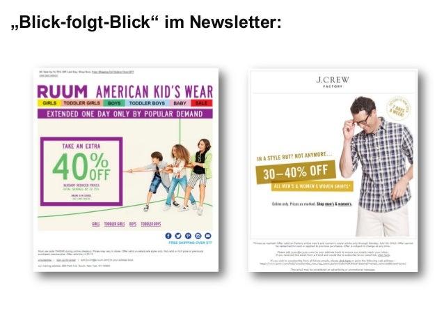 """""""Blick-folgt-Blick"""" im Newsletter:"""