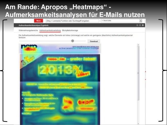 """Am Rande: Apropos """"Heatmaps"""" -Aufmerksamkeitsanalysen für E-Mails nutzen"""