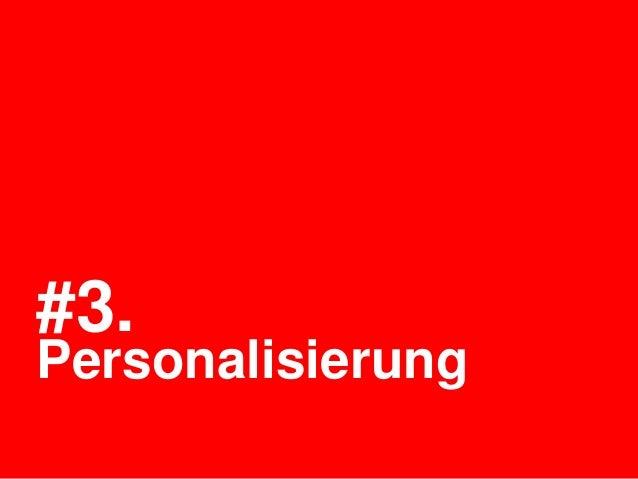 #3.Personalisierung