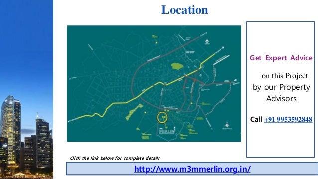 M3M Merlin Gurgaon Apartments Price List