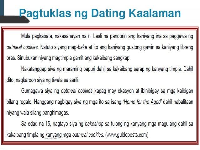 Pagtuklas sa dating kaalaman