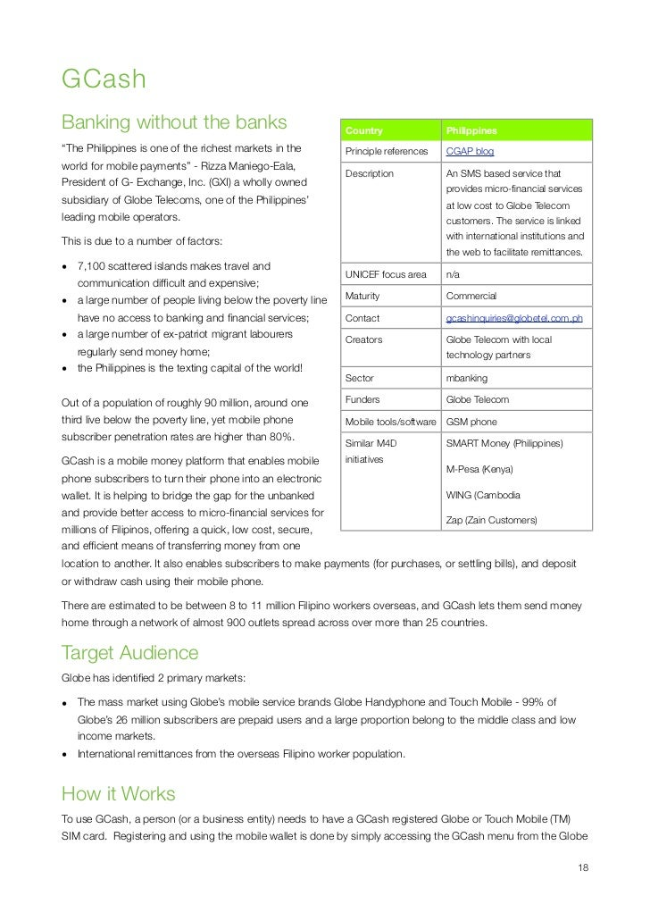 Mobiles4Development Case Studies