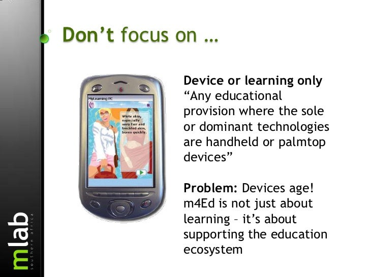 Examples of Mobile Interventions That Support Proven Education Approaches Slide 3