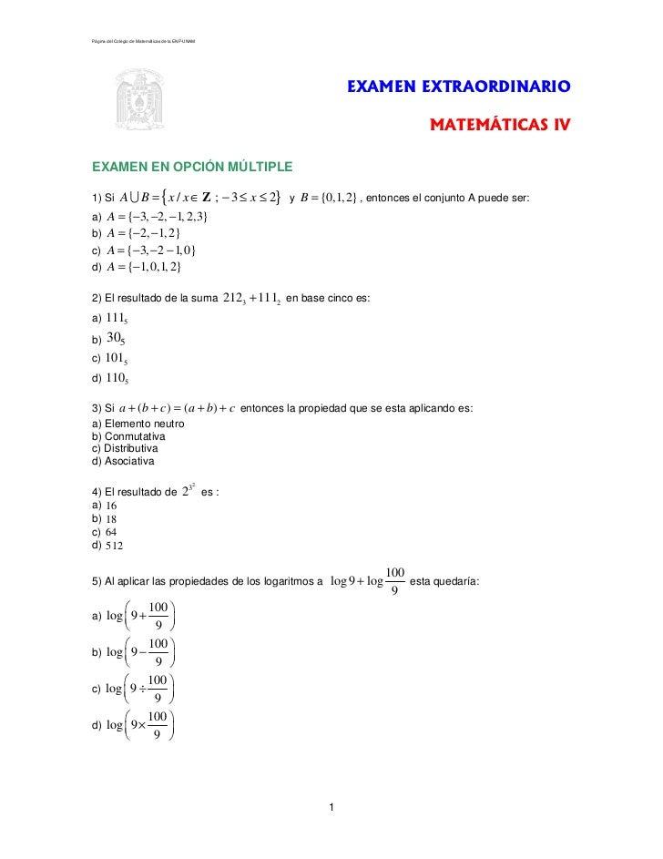 Página del Colegio de Matemáticas de la ENP-UNAM                                                                          ...