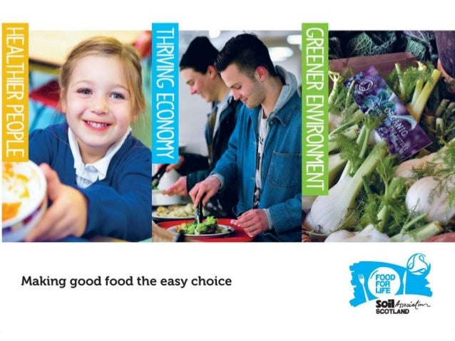 Overview 1. Food memories 2. What do we mean by 'good food'? 3. The Food for Life Scotland approach 4. Bringing generation...