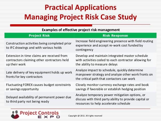 risk management in road construction case study Study describes the different steps for effective risk management planning in construction of highway project keywords - mitigation, planning, risk assessment, risk management 1.