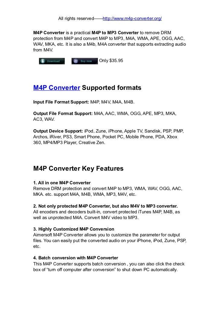 M4P Converter