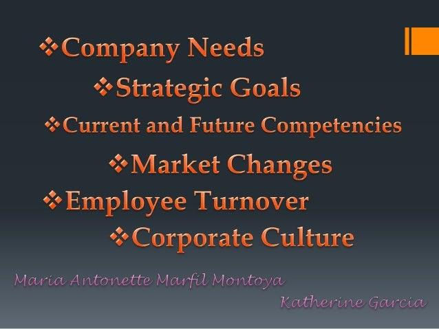 Company's Needs