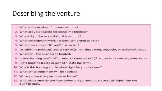 creating and starting the venture pdf