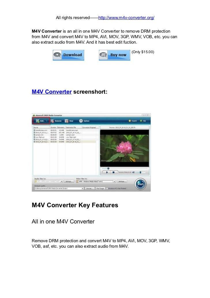 M4V Converter
