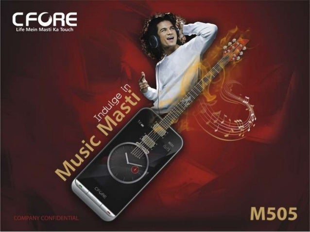 CFORE M505 MOBILE PHONE