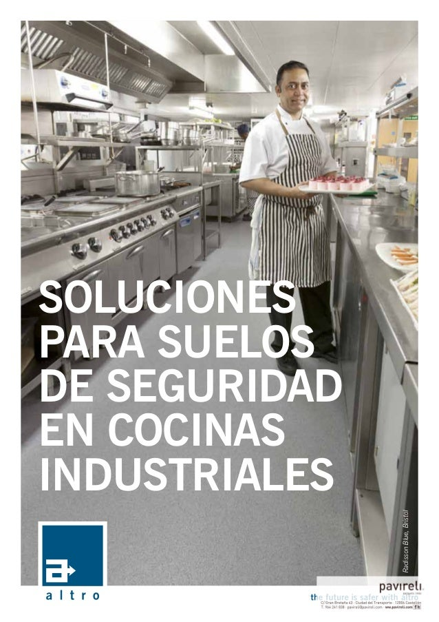 soluciones para suelos de seguridad en cocinas