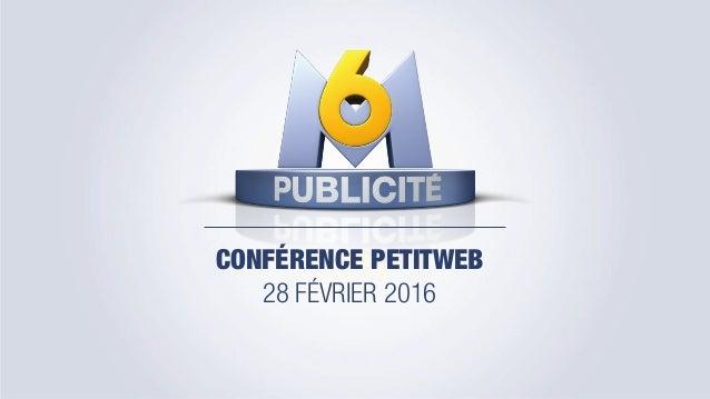 CONFÉRENCE PETITWEB 28 FÉVRIER 2016