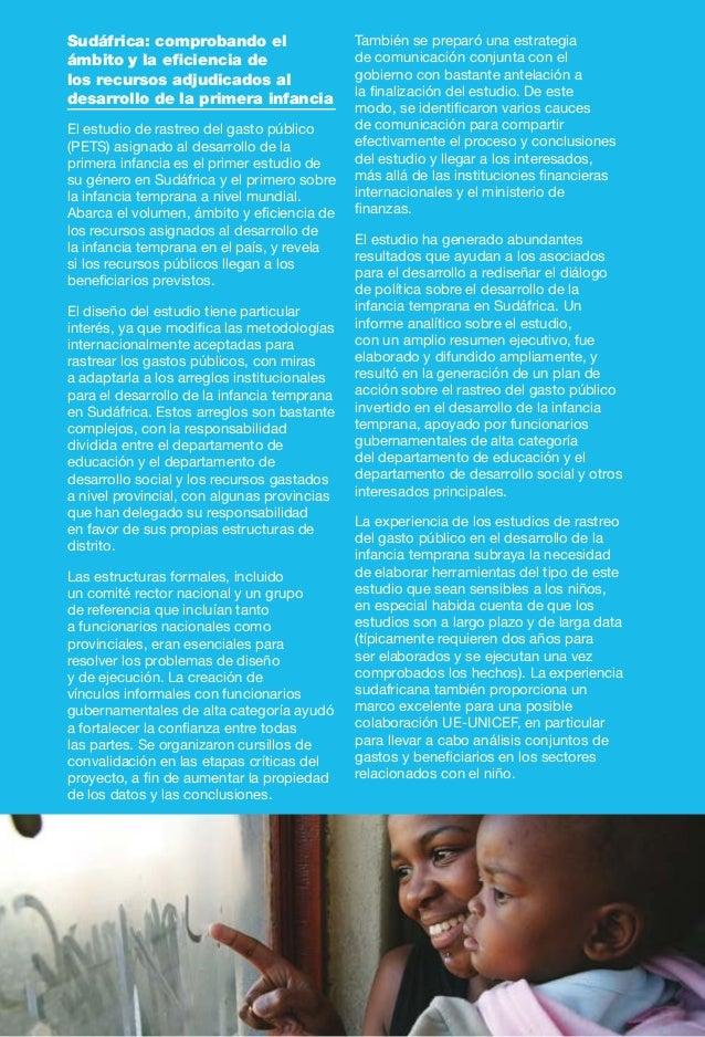 25 Los asociados para el desarrollo tienen un papel crítico que desempeñar para asegurar la sostenibilidad y adecuación de...