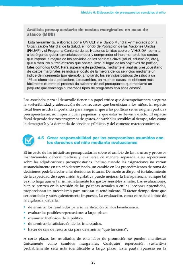 26 Benín: el análisis de costos marginales (MBB) resulta en una mejora de los presupuestos y los planes de salud para los ...