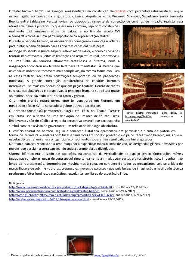 O Teatro como mundo da ilusão e espaço privilegiado do espetáculo I Slide 3