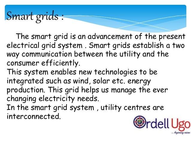 Smart Grid System Centralized grid