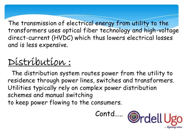 Distribution intelligence Black out due to bad weather Smart grid's counter effect Repercussions of counter effect