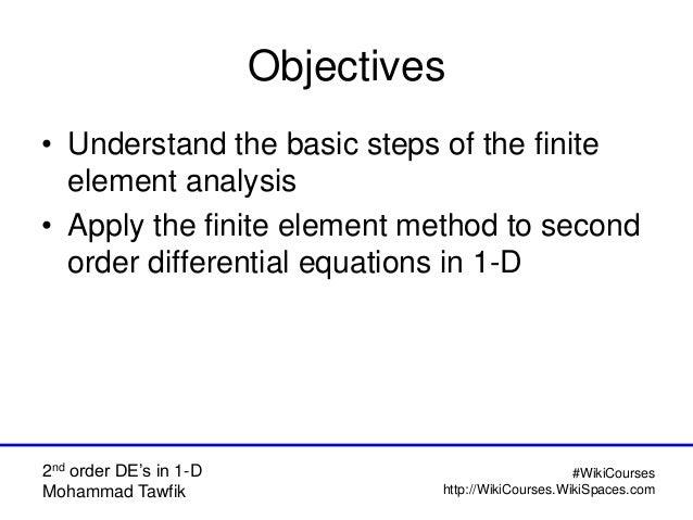 FEM: Element Equations Slide 2