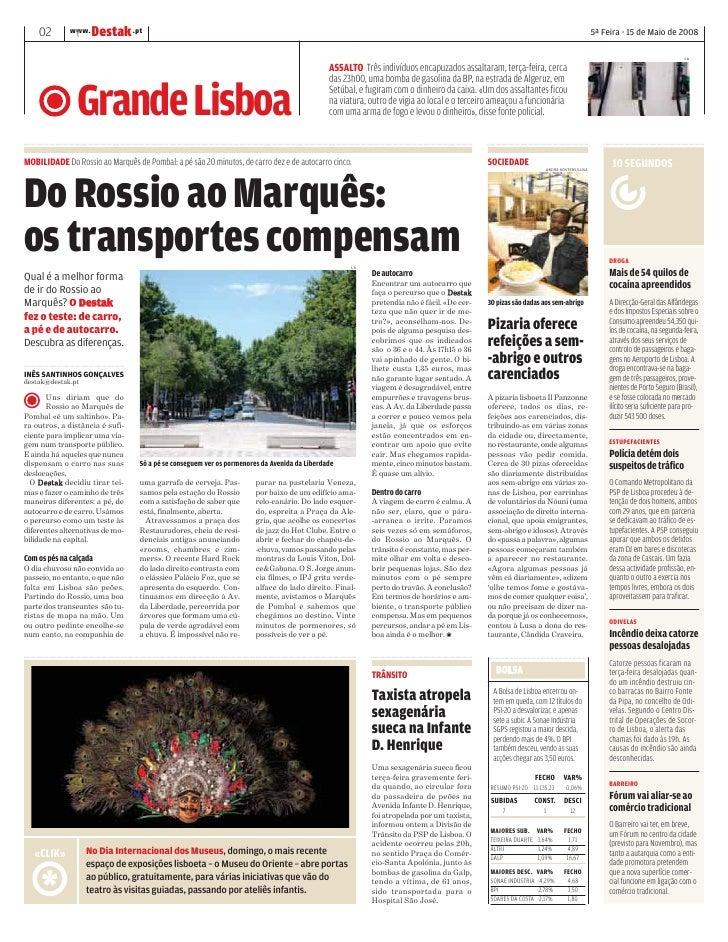 DESTAK – Lisboa – 15.05.2008 Slide 2