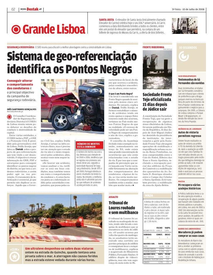 DESTAK – Lisboa – 10.07.2008 Slide 2