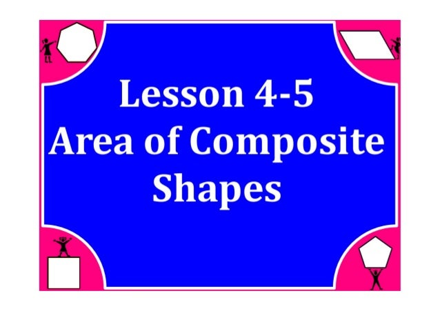 how to solve composite shapes