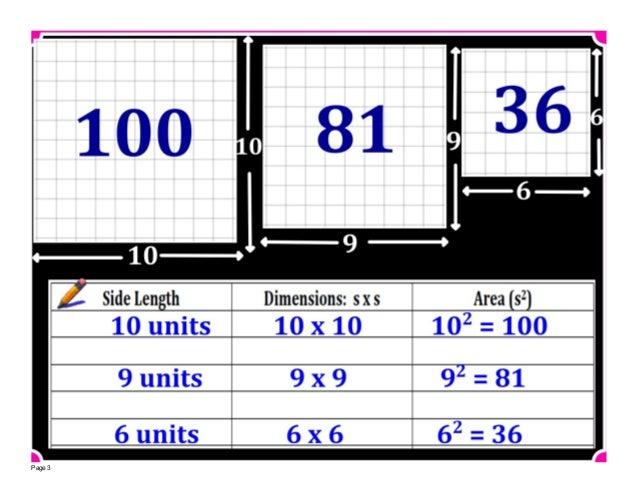 M8 lesson 1 2 square & cube roots Slide 3