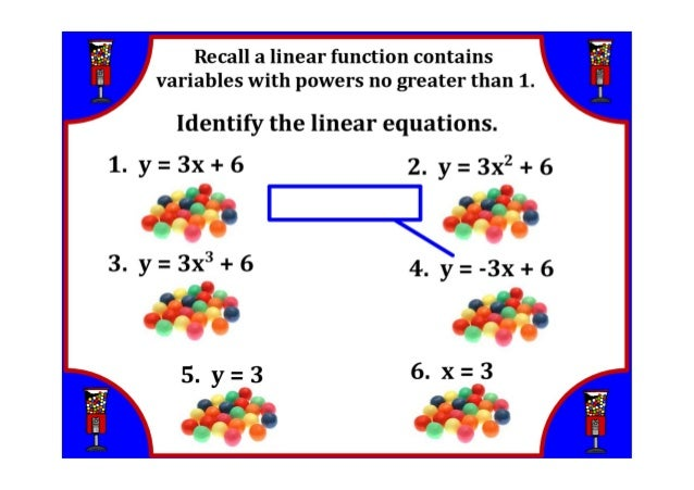 how to find the slope of a linear relation
