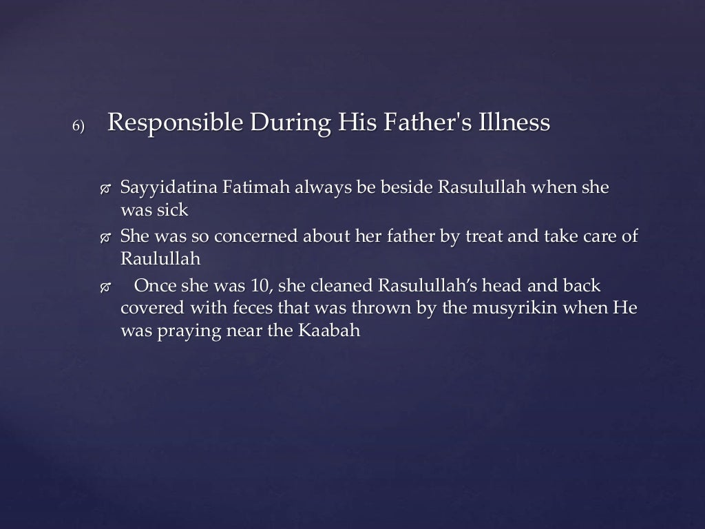 Famous Personalities - Fatimah az-Zahra