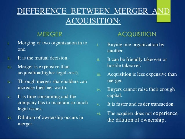 types of mergers and acquisitions pdf
