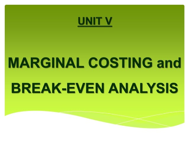 how to get marginal cost from variable cost